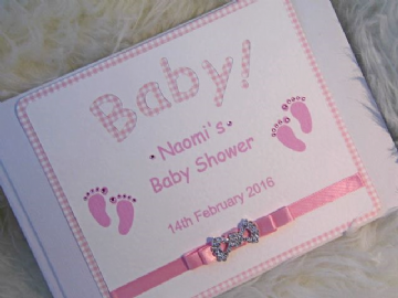 BabyShower Guest Book personalised